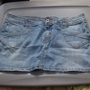 Mudd Jeans Mini Skirt Size 9